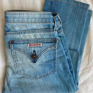 NWT Hudson Distressed Flap Pocket Skinny Jeans